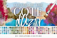 Colors of the Côte d'Azur by Jessica Johnson in Palettes