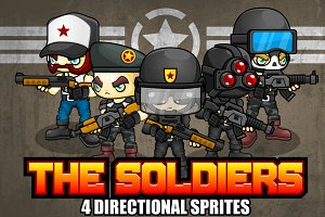 The Soldier - Game Sprites