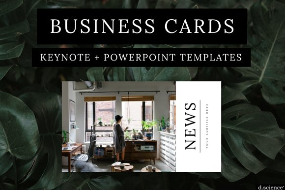 Modern Business Cards No 2