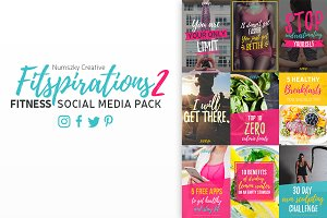 Fitspirations2- Social Media Pack