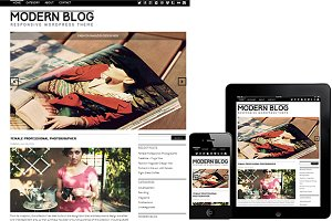 Modern Blog WordPress Theme