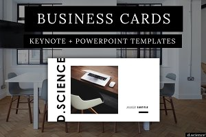 Minimal Business Cards | No. 1