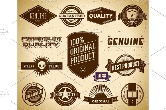 Vintage Labels Collection 15
