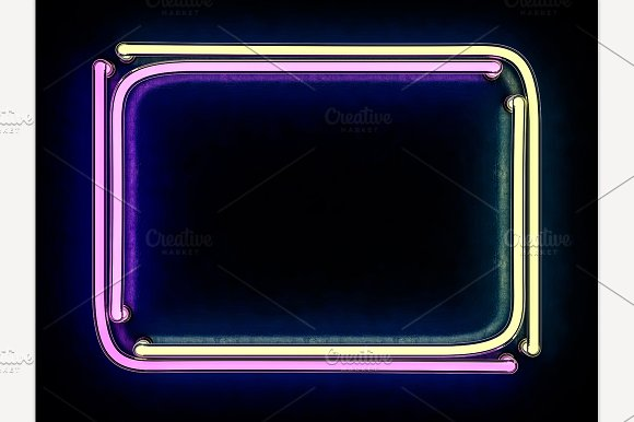 Modern Retro Billboard Background