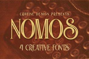 Nomos Typeface