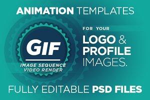 Logo & Profile Image Animation V. 1