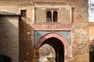 Puerta del Vino at Alhambra