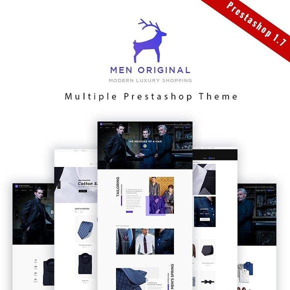 Leo Men Original Prestashop Theme