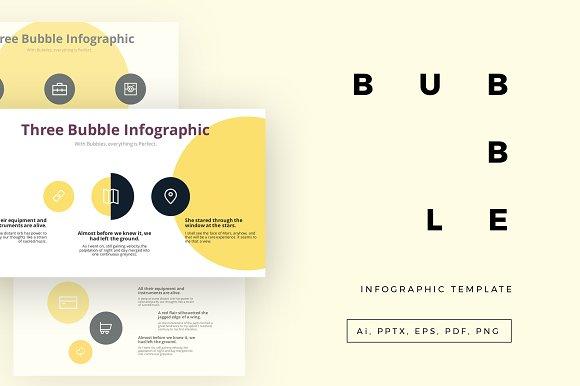 bubble template presentation templates creative market