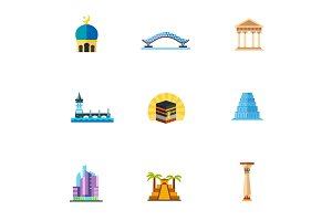 Civilization icon set