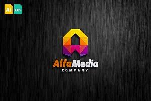 AlfaMedia Logo