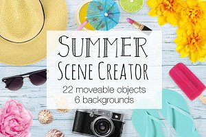 Summer Scene Creator - Top View