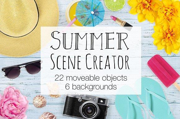 Summer Scene Creator - Top View