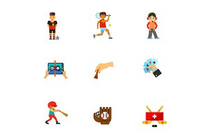 Games icon set