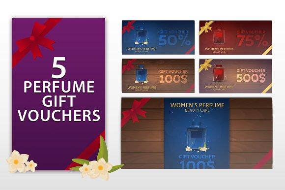 5 Perfume Gift Vouchers
