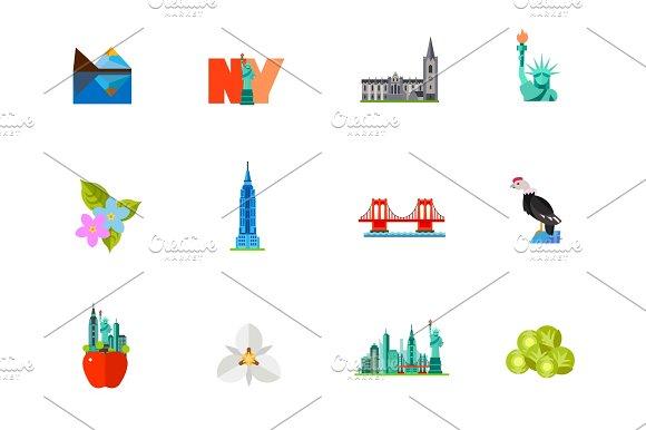 New York City Icon Set