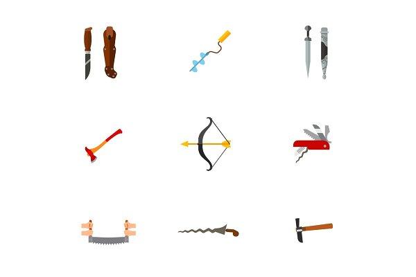 Sharps icon set
