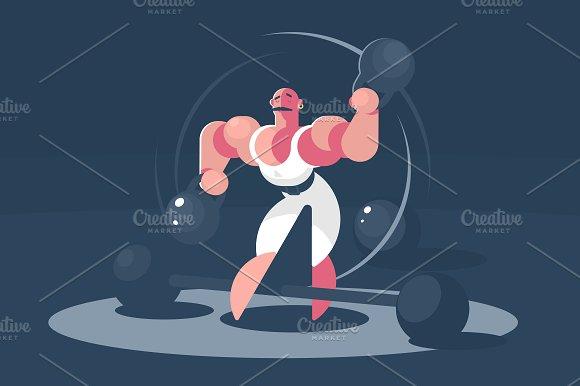 Circus Athlete Strongman