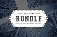 5 in 1 Resume/CV Bundle With MS Word