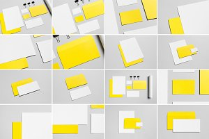 Stationery Mock-Up Photo Bundle 4