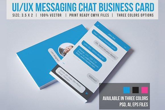 Creative Messaging Business Card