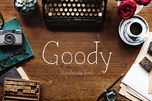 Goody—handwritten font