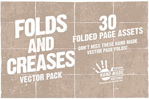Folds and Creases - Vector pack