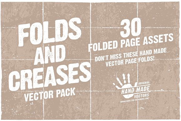 Folds And Creases Vector Pack