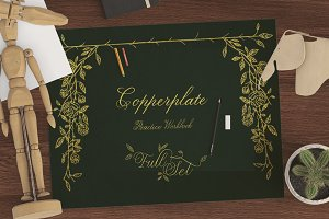 Copperplate Workbook (Full set)