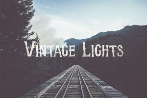 """Vintage Lights"" Gradients"