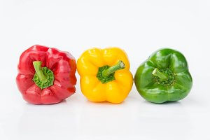 pepper three color vegetables
