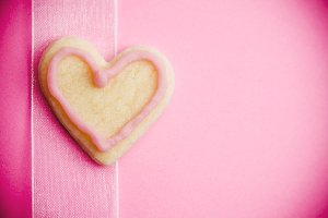 Valentine's Day Heart Shaped Cookie