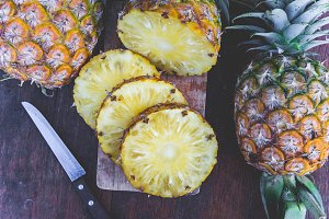 pineapple fruit healthy fruit diet