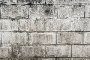 Texture dirty wall cement block