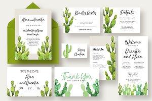 Cactus Wedding Suite