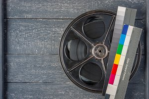The old reel with the movie