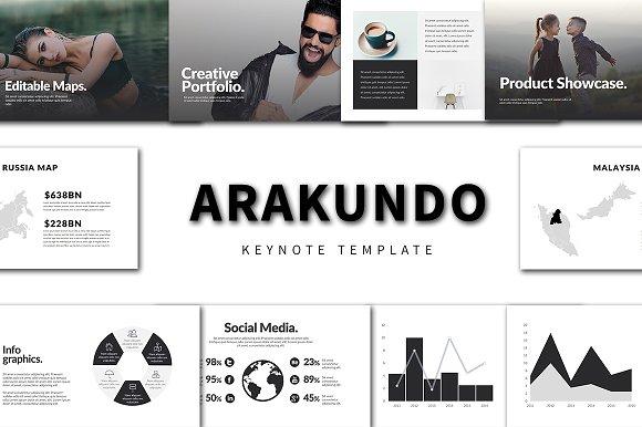Arakundo Keynote Template