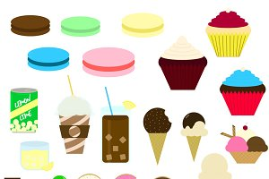 Sweets' Vector Illustrations