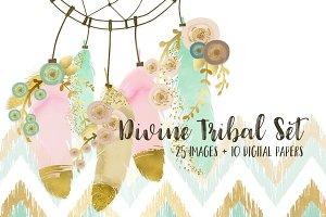 20% Off!! Divine Tribal Set
