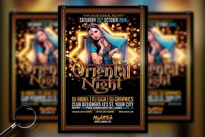 Oriental Night | Pure Flyer Template