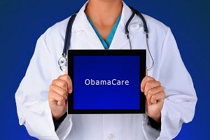 Nurse Tablet ObamaCare