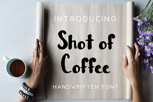 Shot of Coffee Font