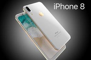 iPhone8 Leak Corner edges