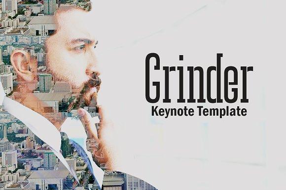Grinder Keynote Template