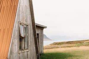 Old abandoned Shed in Iceland