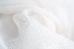 Gauzy Fabric Background