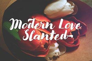 Modern Love Slanted Script