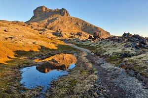 Rugged Snaefellsjokull Trail