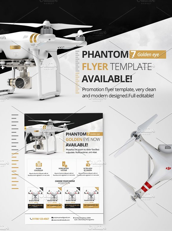 Drone Promotion Flyer