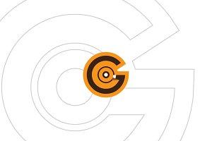 GCO Monogram Minimal flat LOGO